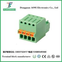 台湾弹簧式接线端子2.5mm插拔式15EDGKD-2.5/3.5澳斯
