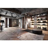 粗犷独特,工业风格的公装室内设计