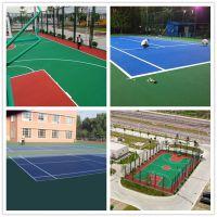 广州福顺硬地丙烯酸篮球场材料 丙烯酸网球场施工