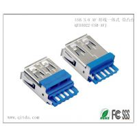 祺泰达专业生产USB 3.0 AF 焊线一体式 带凸台A B款