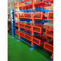伸缩悬臂式货架价格 福建棒材存储 钢管货架设计 4吨悬臂架定做