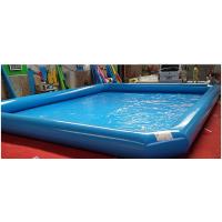 投资夏季充气游泳池怎么样 户外遮阳帐篷充气水池 碰碰船充气水池