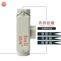 防爆穿线盒 升羿防爆过线盒 直通三通弯通 铸铝合金 一寸两寸DN25可定做尺寸 厂家直销