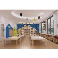 深圳宝安宝安中心区全托幼儿园装潢设计 连锁早教设计单位