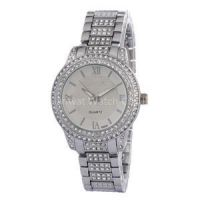 Alloy Diamond Watches For Women Japan Movement Watch