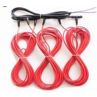 江特{厂家直销}硅橡胶碳纤维加热线 铁氟龙碳纤维加热线