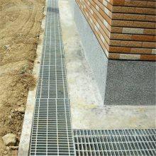 镀锌平台网格板 排污水沟盖板 水沟盖板厂家
