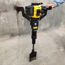 铲头式手提挖树机 启航耐用苗木断根快捷挖树机 多功能便携式移树机