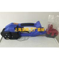 厂家供应PP带 PET塑钢带电动打包机 上海至奔T200电动打包机