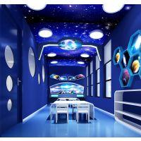 专注儿童空间,幼儿园设计哪家更优惠石家庄幼儿园装修设计,蓝色木棉