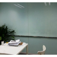 优雅乐钢化玻璃白板磁性挂式可移动式写字板支架式黑板会议办公教学