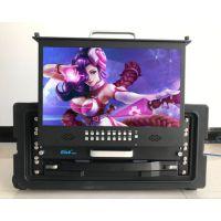 17寸新款液晶折叠监视器肯威KENV-HD173C款1u标准机柜 厂家直销