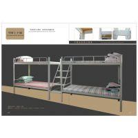 公寓学生床 金属床 双层床 现代简约 现代公寓床 员工上下床