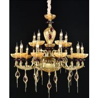 现代客厅吊灯法式奢华创意卧室灯具欧式锌合金别墅大厅餐厅灯