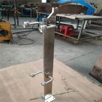 金聚进 定制正宗 SUS304的不锈钢立柱 201的不锈钢楼梯立柱AWS5