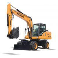 恒特挖掘机——HT155W轮式挖掘机