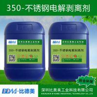 350不锈钢电解剥离剂、比德美、不需要抛光,便可以直接电镀。脱挂粉
