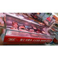 超市冷鲜肉柜定做,肉铺风冷鲜肉保鲜柜,直冷卧式鲜肉柜