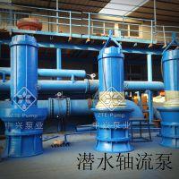 轴流泵350QZ-45KW潜水轴流泵