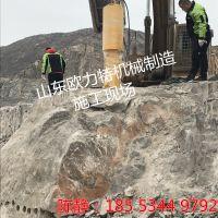 甘肃陇南岩石拆除钢筋混凝土拆除欧力特牌大型机载劈裂机报价