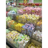 郑州超市零食盒亚克力透明食品展示盒箱子透明罩子收纳盒定做收纳盒
