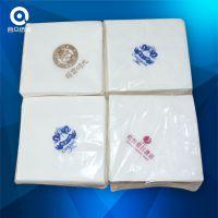 西餐餐巾纸40*40双层 双色印标正方形餐巾纸 原生木浆纸质厚
