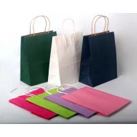 供应礼品包装服装手提纸袋、环保购物纸袋子 生产订做