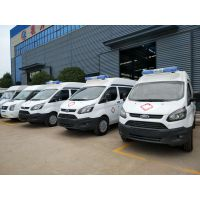 福特新全顺长轴监护型救护车生产厂家(汽油)