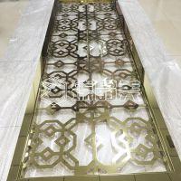臻晶美专业生产不锈钢屏风 玫瑰金中式屏风定制 支持定制多种风格可选