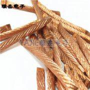 方形铜编织线,电工铜软绞线实物图片
