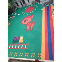 供南宁周边学校幼儿园悬浮地垫拼装式运动悬浮地板铺设