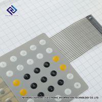 P37薄膜开关 专业厂家长期定做.电子柔性薄膜开关 薄膜按键面板.