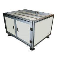 鸿发有色供应优质铝型材框架制品 铝型材操作台 医用工作台厂家直销