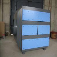 制药厂专用工业活性炭吸附箱厂家销售10000风量活性炭废气净化器