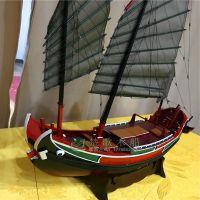 古船复制 大型古战船 福船 影视道具船模型 楚歌木船专业设计定制