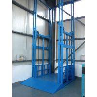 厂家专业定做青岛滨州导轨式液压货梯 固定式升降台