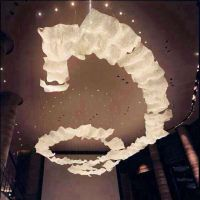 非标定制灯 具纯手工菠萝水晶云朵吊灯