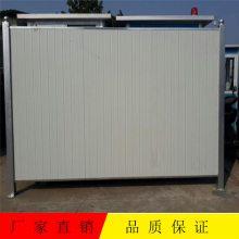 广州房地产建筑安全隔离围挡 彩钢泡沫夹芯板围挡 市政工程围蔽护栏