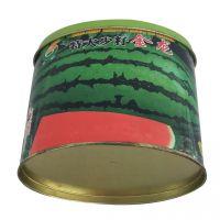 椭圆形铁罐 西瓜种子罐 马口铁包装盒定制