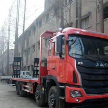 350马力江淮K5前四后八挖机拖车拉350挖机的拖车