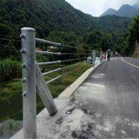 公路护栏/公路钢丝绳护栏/钢索防撞护栏厂家
