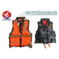 军训专用救生衣,双面穿迷彩便携可拆卸87式游泳救生衣
