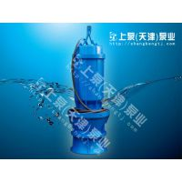 不阻塞铸铁潜水轴流泵700QZB-100上泵泵业