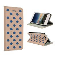 东莞OEM皮具厂家定制苹果手机保护套翻盖式简约仿皮手机配件