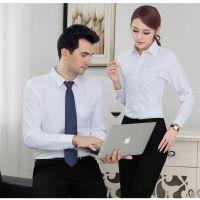 长葛定做衬衣供应笑影服饰商务职业装定做,现货职业装