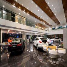 厂家热销广汽本田4S店木纹和白色组合铝单板吊顶天花
