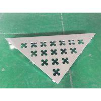 三角形梅花孔铝单板_雕刻三角形梅花网铝幕墙