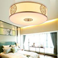 新中式吊灯卧室灯客厅餐厅书房茶楼圆形玄关阳台中式灯具