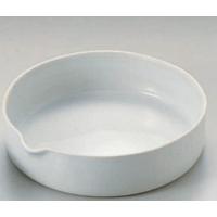 耐热1050℃蒸发皿 (平底)蒸発皿 No.6