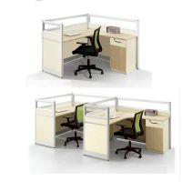 广州办公家具厂家直销屏风办公桌落地屏风卡位隔断高隔断46人位职员办公桌椅组合